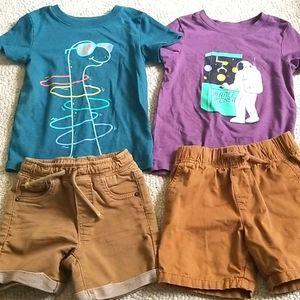 2t Shorts & Top lot